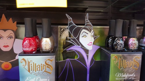 disney villains nail polish orly