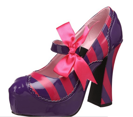 2015-10-12 03_19_33-Amazon.com_ Funtasma by Pleaser Women's Kitty-32_PURHP Pump,Purple_Hot Pink Pate