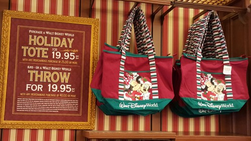 walt disney world holiday tote