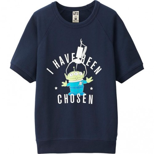 Uniqlo Short Sleeve Pullover Toy Story