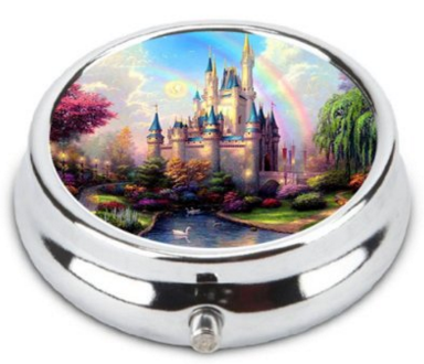 2016-03-21 01_57_07-Amazon.com - OceanArt Custom Disney Castle Unique Silver Tone Round Pill Box Med