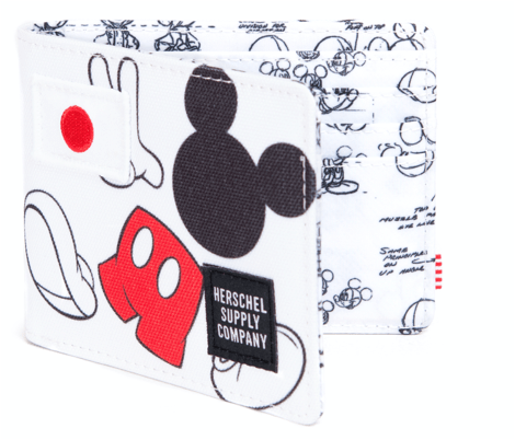 HD Mickey Wallet White
