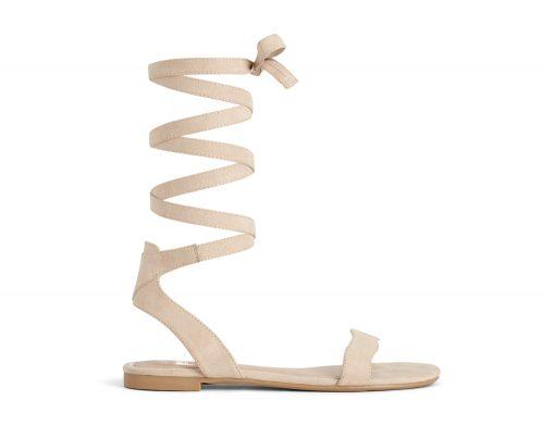 Flat Sandal Beige