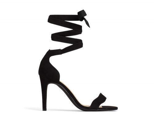 Heeled Sandal black