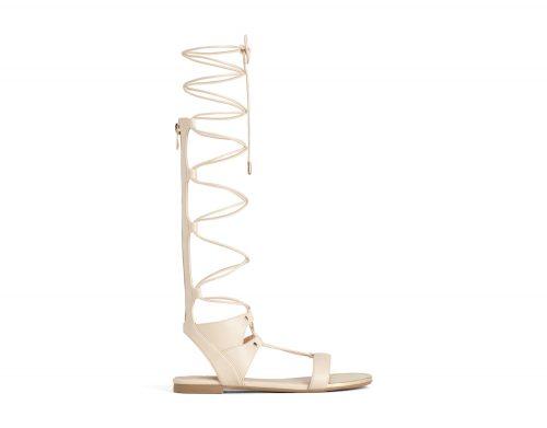 Strappy sandal beige