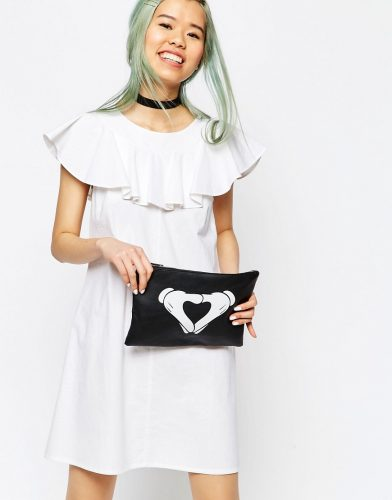 ASOS Mickey Glove Clutch