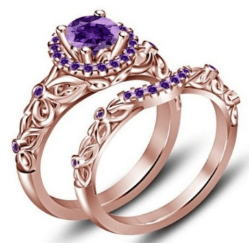 2016-07-03 02_00_47-Amazon.com_ TVS-JEWELS Round Purple Amethyst Bridal Disney Princess Engagement w