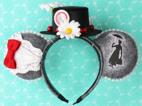 Mary Poppins Inspired Mouse Ears For Your Next Disney Vacation