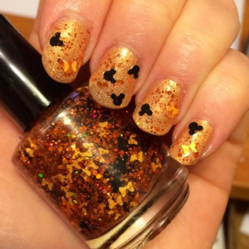 Pumpkin Spice Mickey Nail Polish