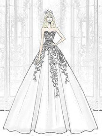 alfred-angelo-cinderella-272r-sketch
