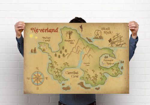 neverland-map