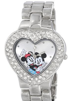 2017-01-15 03_39_16-Amazon.com_ Disney Women's MN2003 Mickey and Minnie Mouse Silver Dial Bracelet W