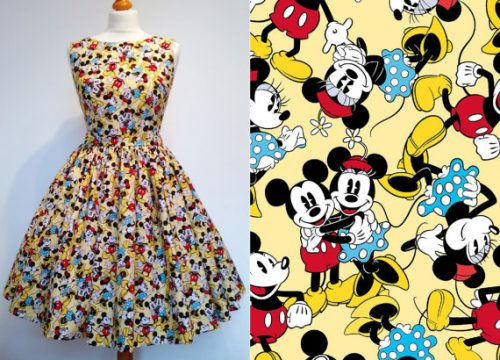 Mickey and Minnie Mouse dress