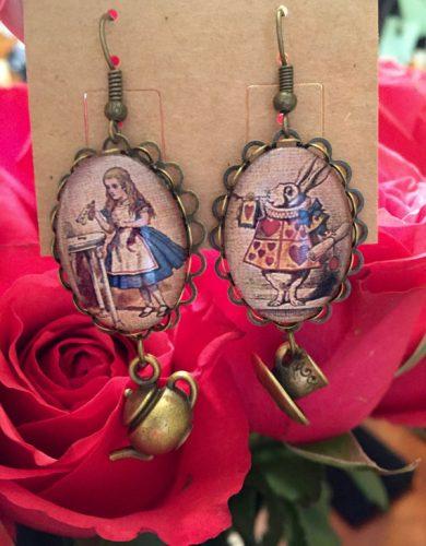 Alice earrings 2