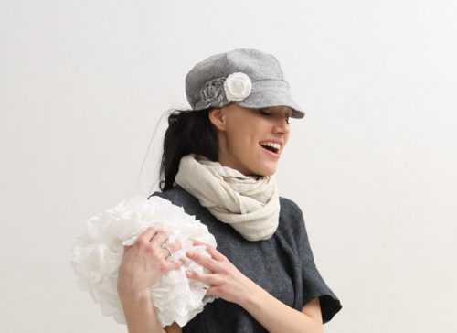 Womens Newsboy cap