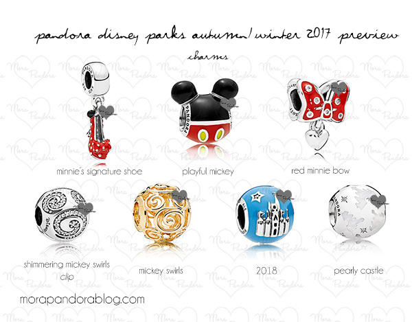 pandora charm disney world