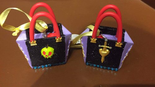 evil queen handbag ornament