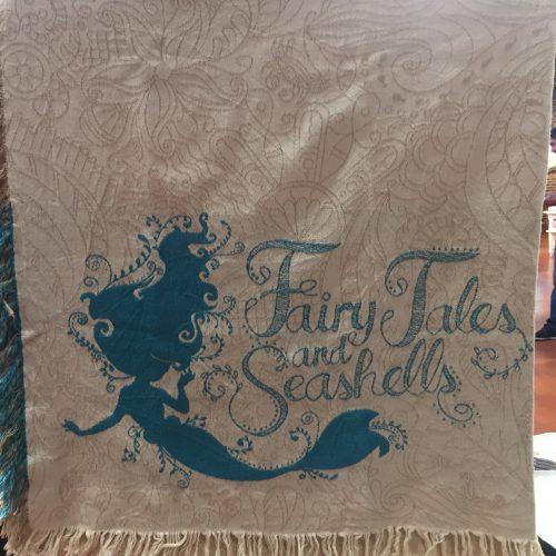 fairy tales and seashells mermaid decor
