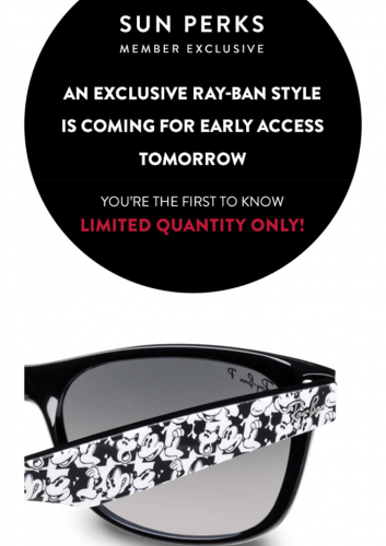 c592bb4796e Mickey Mouse Ray Ban Sunglasses To Be Released With a New Upgrade!