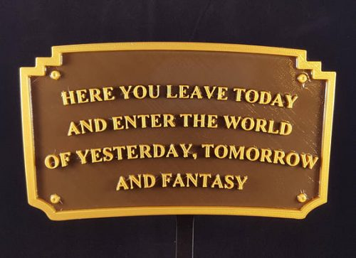 Welcome Your Guests With This Main Street Entrance Plaque