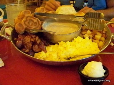 Whispering Canyon Cafe Breakfast Platter