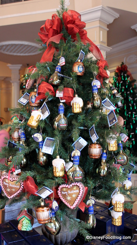 The Beer Wine And Cookies Christmas Tree The Disney