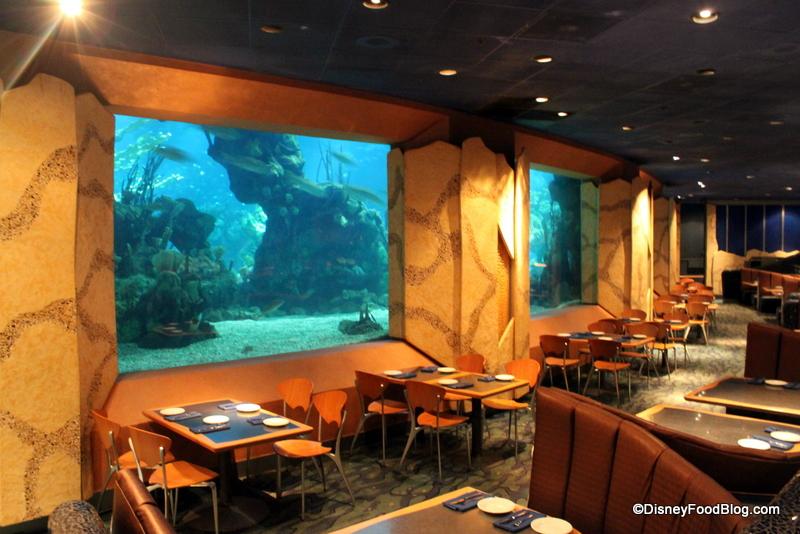 Downtown Aquarium Restaurant Menu