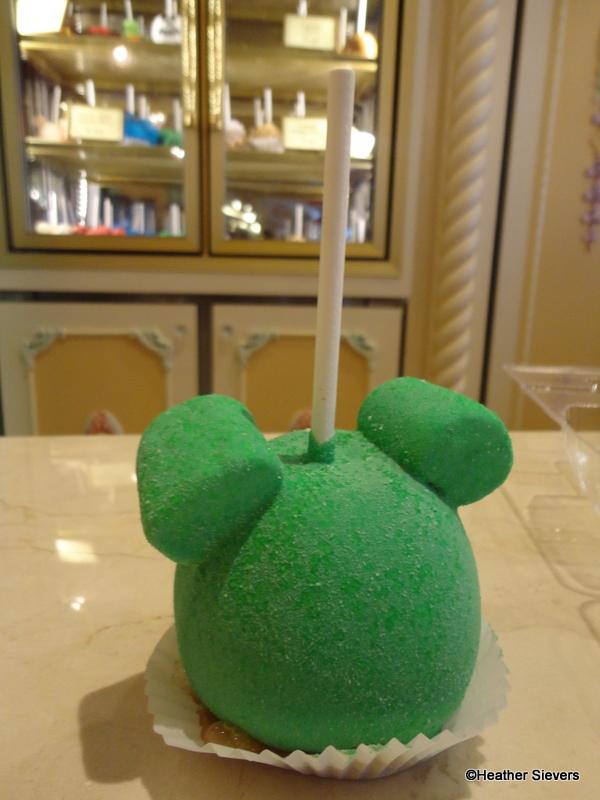 Candy Caramel Disney Apple