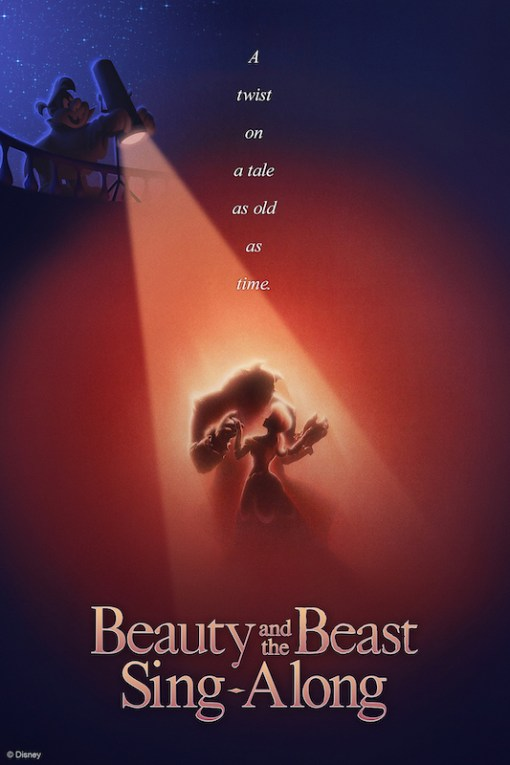 Image result for disney beauty and beast sing along epcot