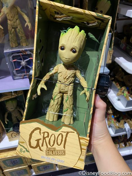 Disneyland 2020 Backlot Premiere Interactive Groot and Bluetooth Speaker 3