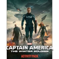 Captain America Coloring & Activity Pages