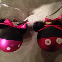 Disney Ornaments for the Holidays: From Hands, Home and Heart