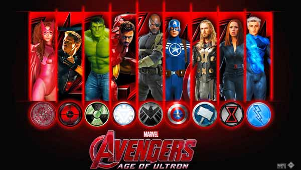 Ultimate Avengers Coloring Pages : Avengers age of ultron free page coloring and activity book