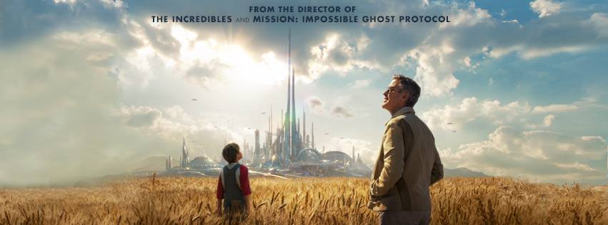 Tomorrowland Poster Field City