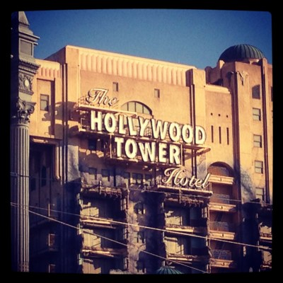 Twilight Zone Tower of Terror Disney California Adventure Park