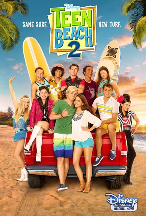 Teen Beach Movie 2 Poster