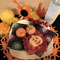 Countdown To Halloween- Spooky Pizza It's What's For Dinner