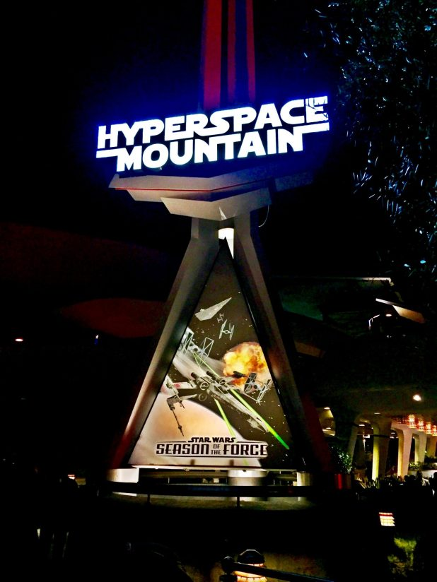 i#StarWarsEvent-Hyperspace-Mountain