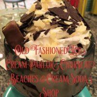 Old Fashioned Ice Cream Parlor Charm at Beaches & Cream Soda Shop