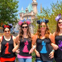 Easy To Make Princess Tee-Shirts With Cricut Iron-ons