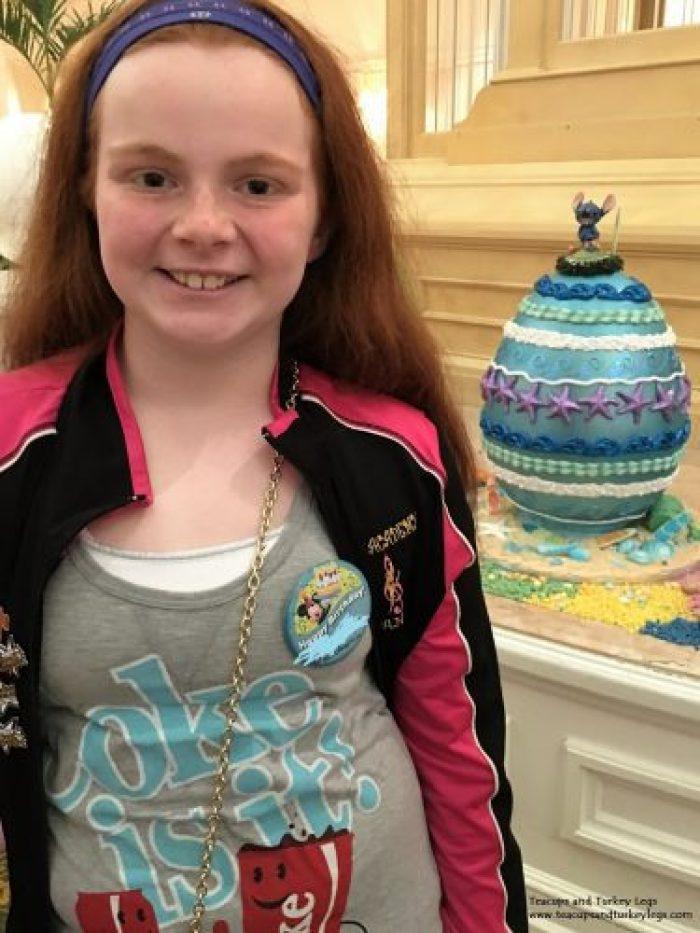 Stitch Easter Egg at Disney's Grand Floridian Resort & Spa