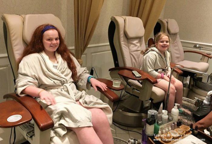 Spending a day at Senses - A Disney Spa at Disney's Grand Floridian Resort & Spa