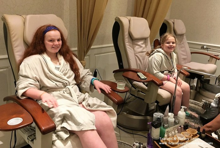 Spending a day at Senses - A Disney Spa at Disney's Grand Floridian Resort & Spa