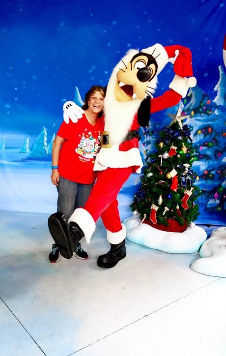 "Disney Social Media Moms ""On The Road"" Disneyland Walt Disney World Mickey's Very Merry Christmas Party"