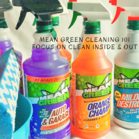 Get Your House Holiday Ready With Mean Green Products And Cleaners