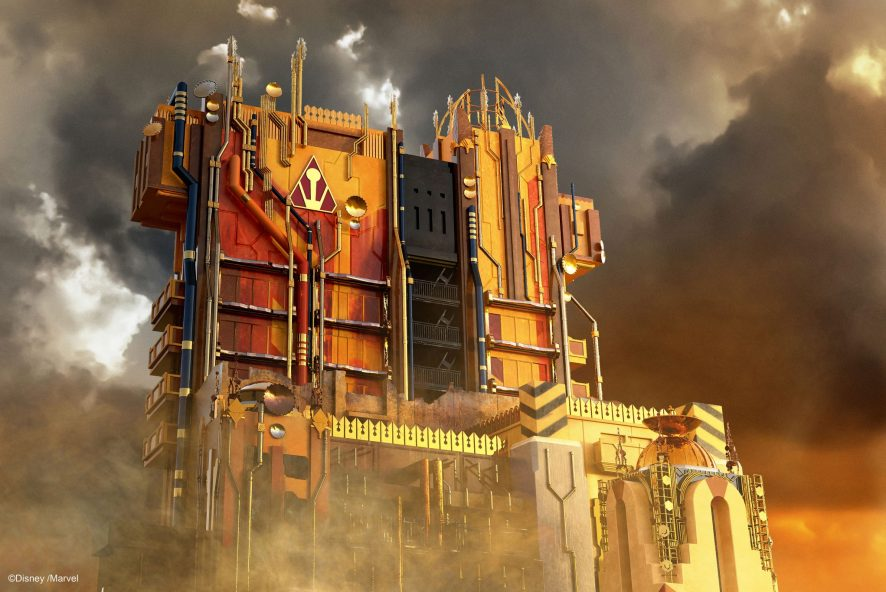 Guardians of the Galaxy MISSION BREAKOUT Disney California Adventure Park Disneyland