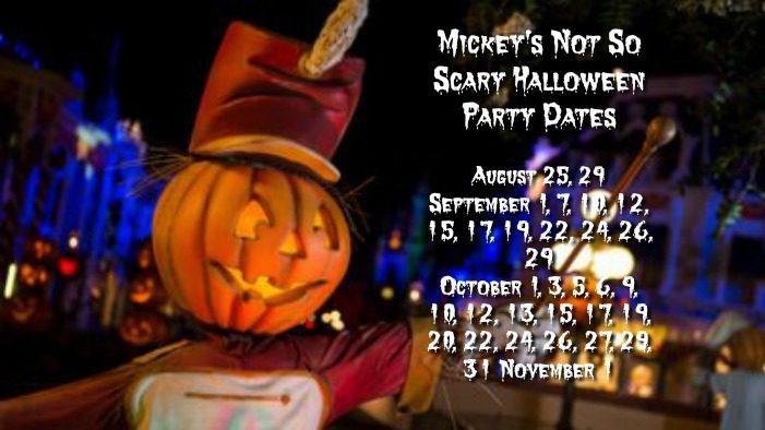 not so scary halloween magic kingdom walt disney world