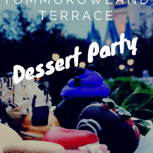 Tomorrowland Terrace Dessert Party-Walt Disney World Magic Kingdom