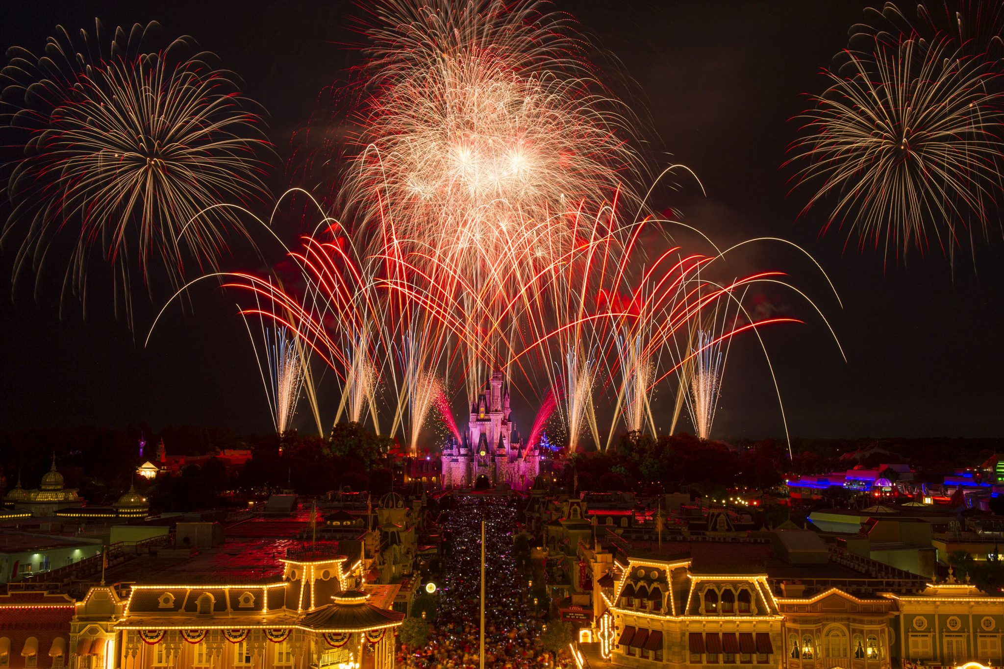 Fourth of July at Walt Disney World Resort FIrewworks