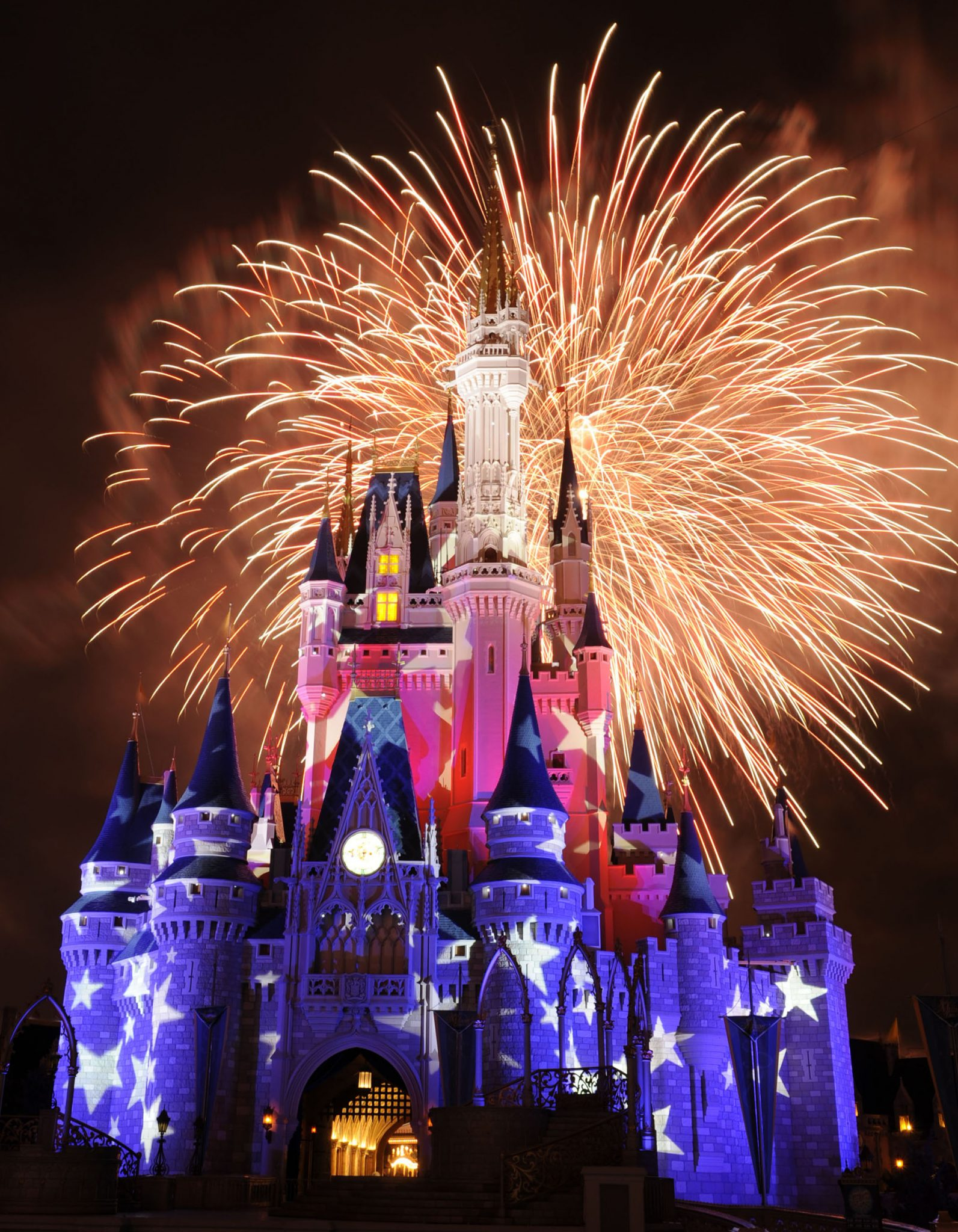 Fourth of July at Walt Disney World Resort FIreworks
